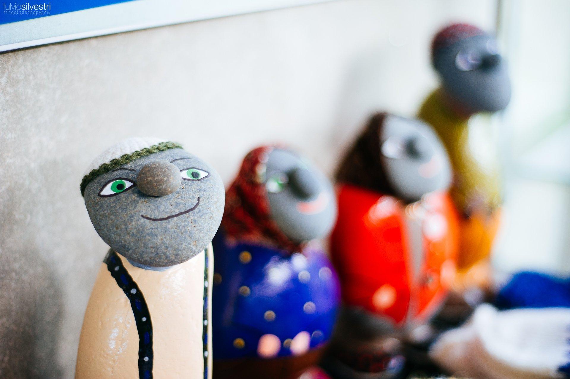 Stone dolls