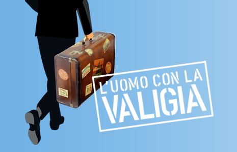 L'uomo con la valigia
